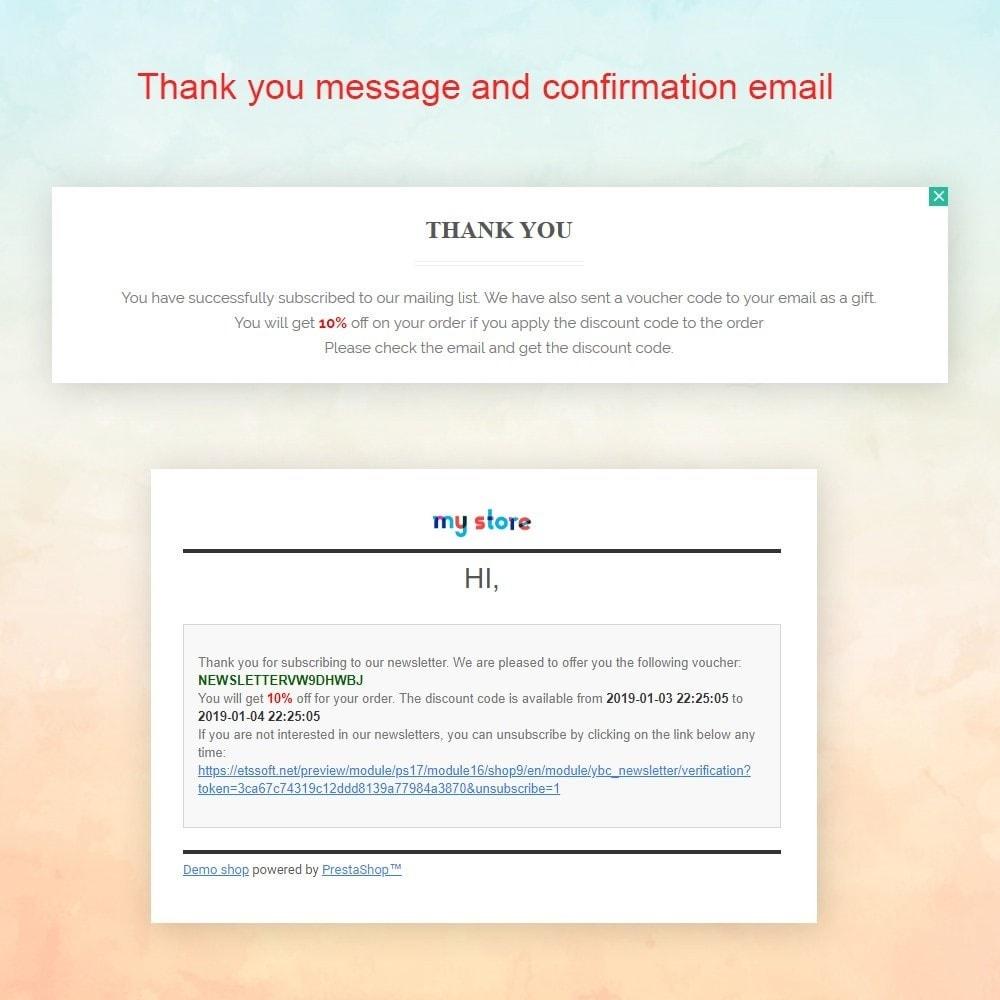 module - Pop-up - Responsive newsletter popup - 5