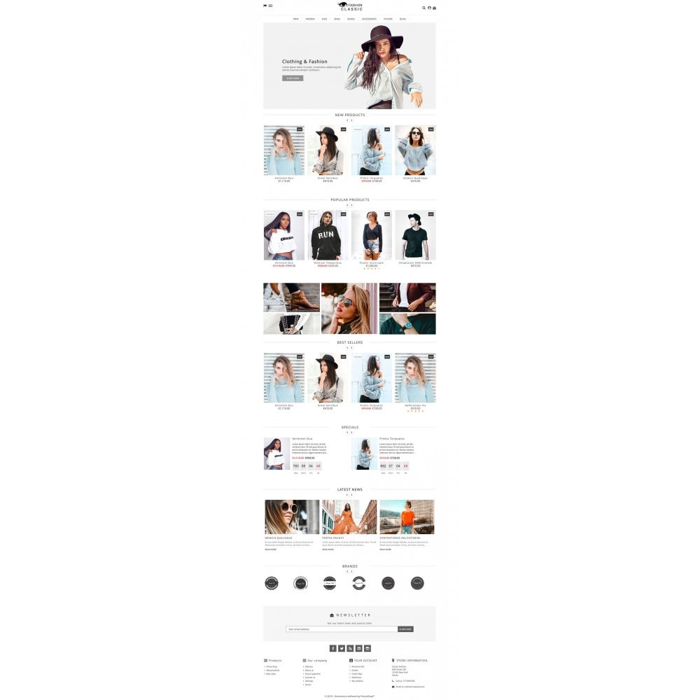 theme - Moda & Obuwie - Classic Fashion - 3