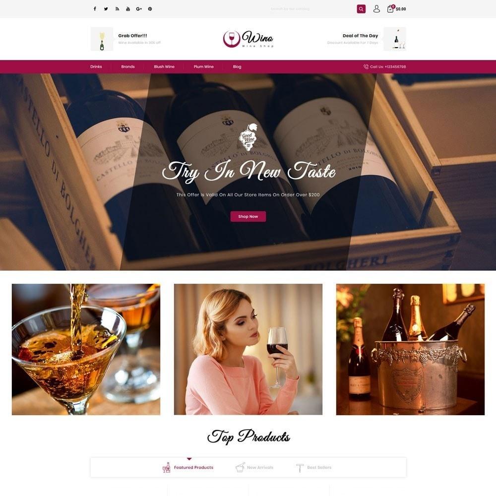 theme - Drink & Tobacco - Wino Wine Store - 2
