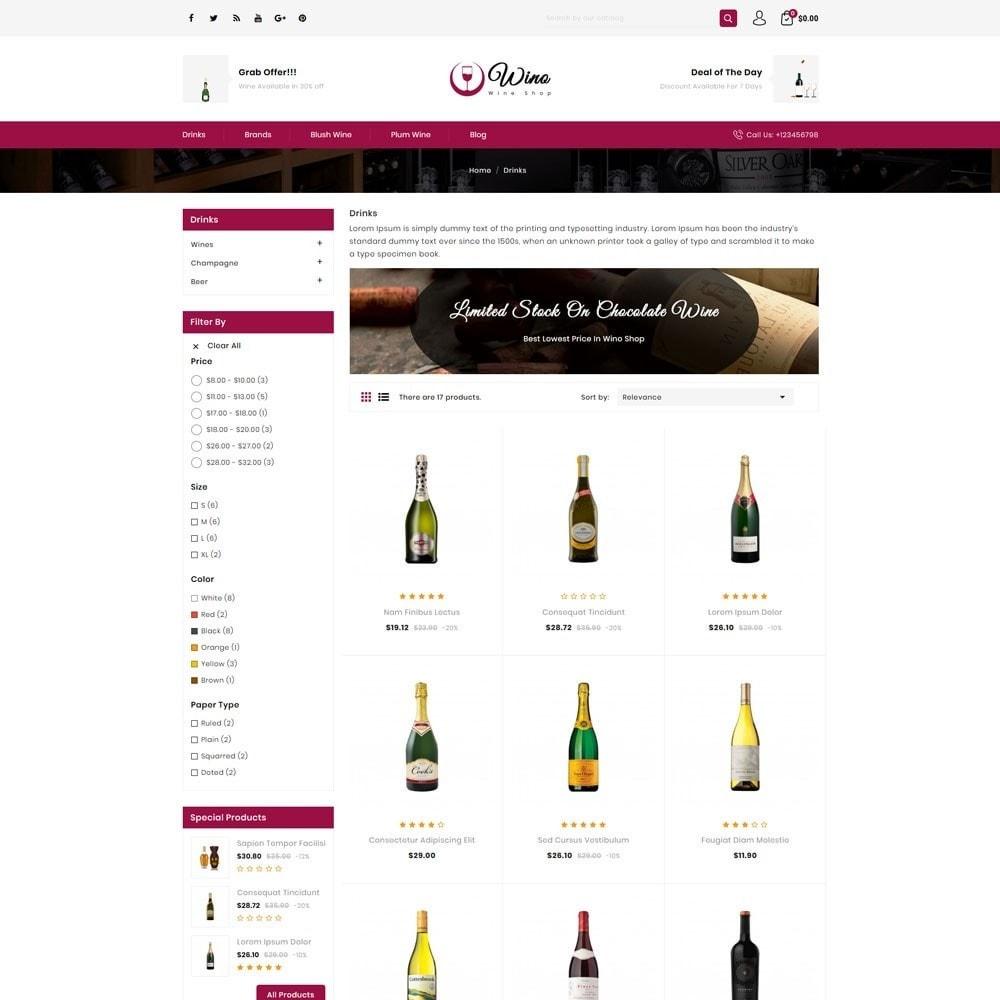 theme - Drink & Tobacco - Wino Wine Store - 3