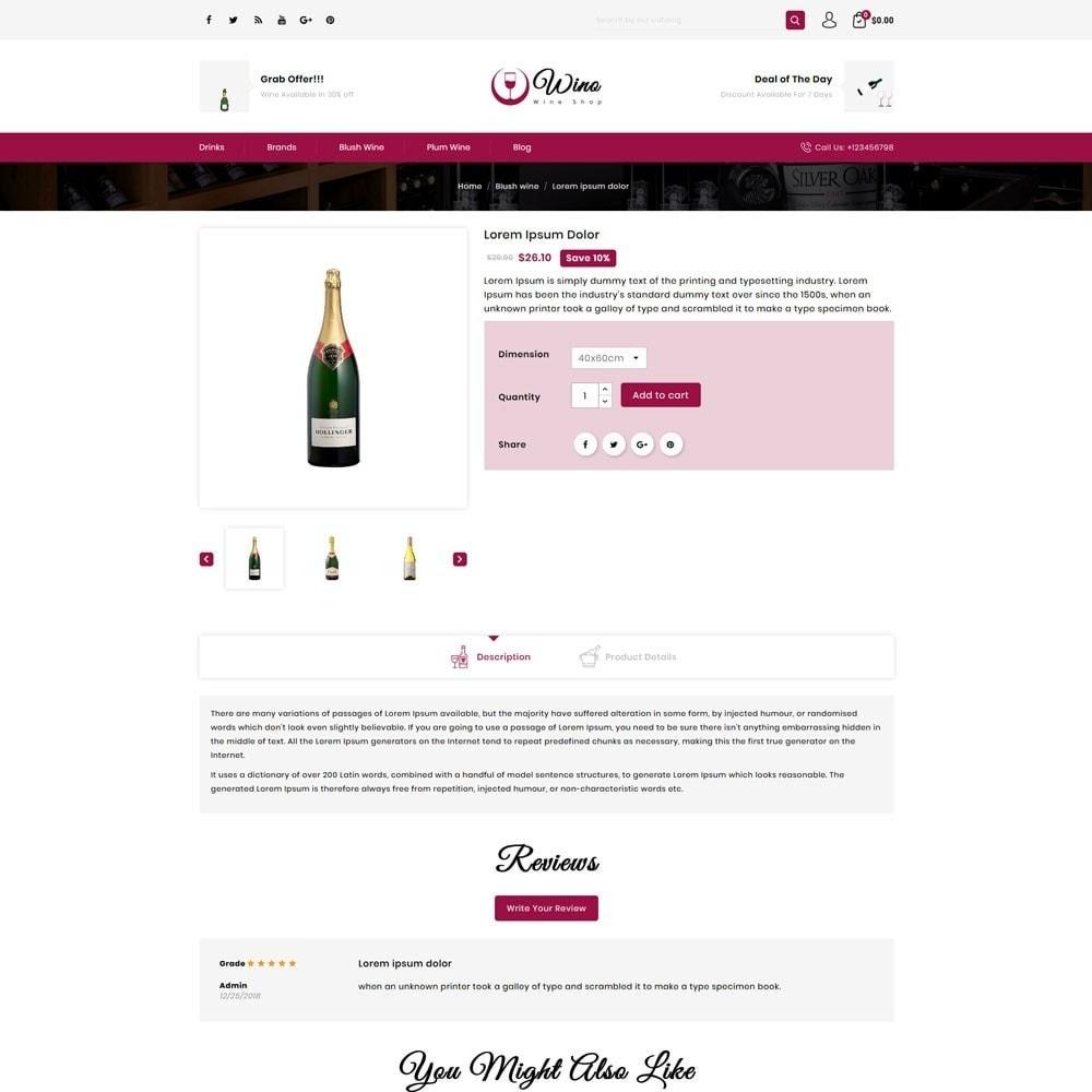 theme - Drink & Tobacco - Wino Wine Store - 4