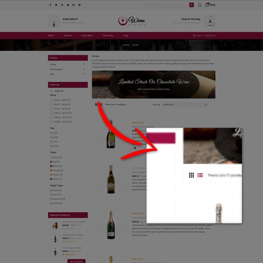 theme - Drink & Tobacco - Wino Wine Store - 5