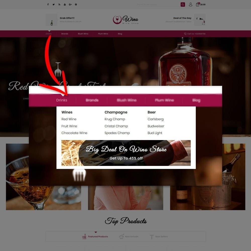 theme - Drink & Tobacco - Wino Wine Store - 8