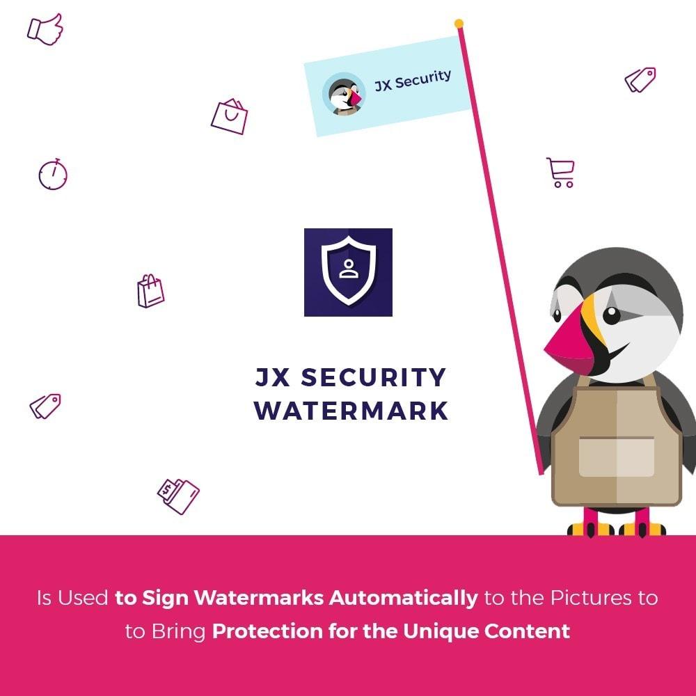module - Segurança & Acesso - JX Security Watermark - 1