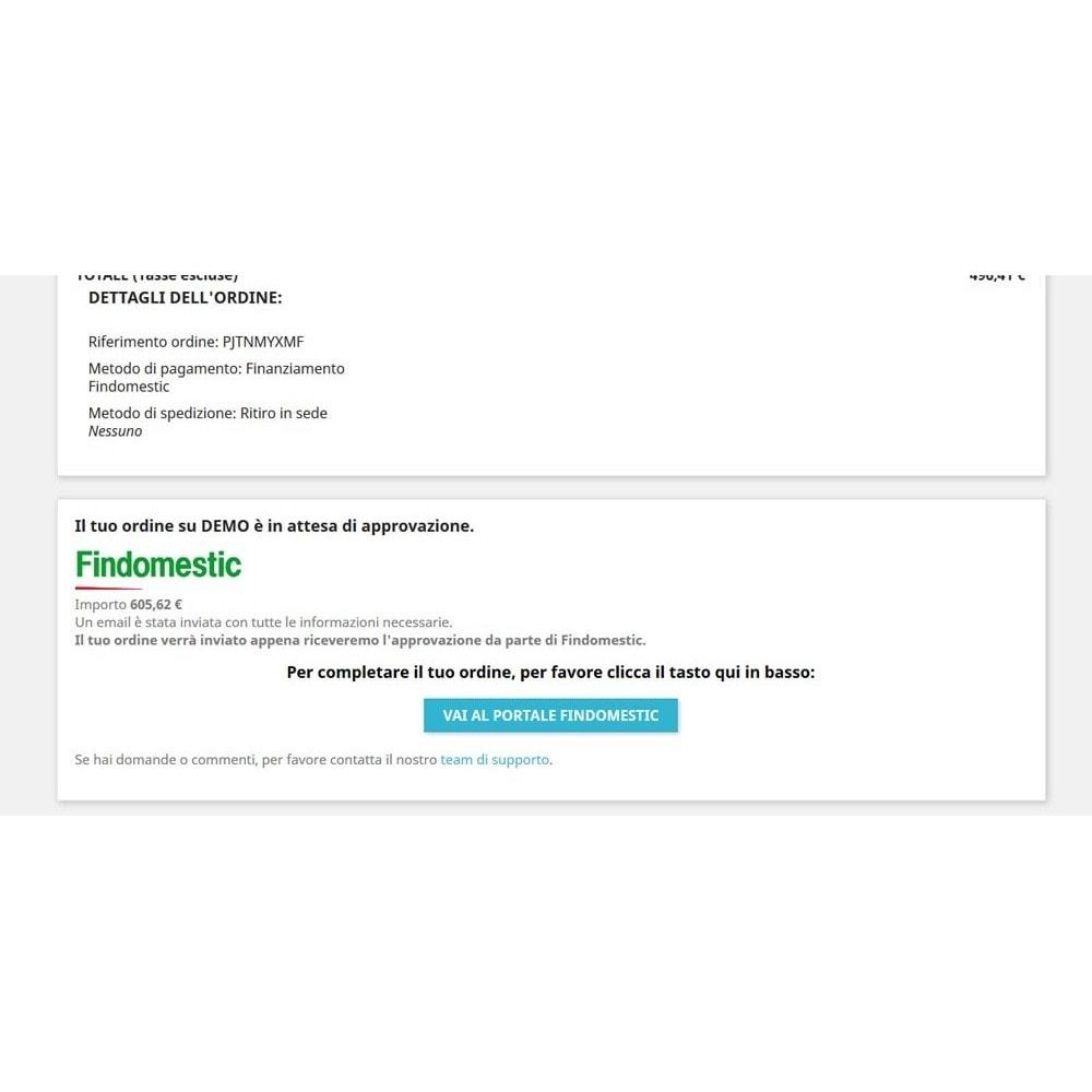 module - Altri Metodi di Pagamento - Pagamento con Findomestic - 13