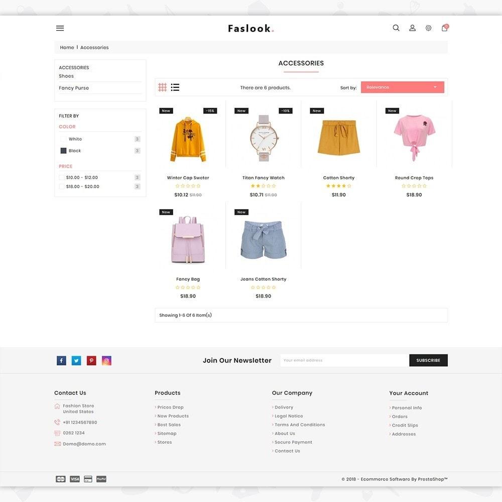 theme - Moda y Calzado - Fashlook - The Fashion Store - 3