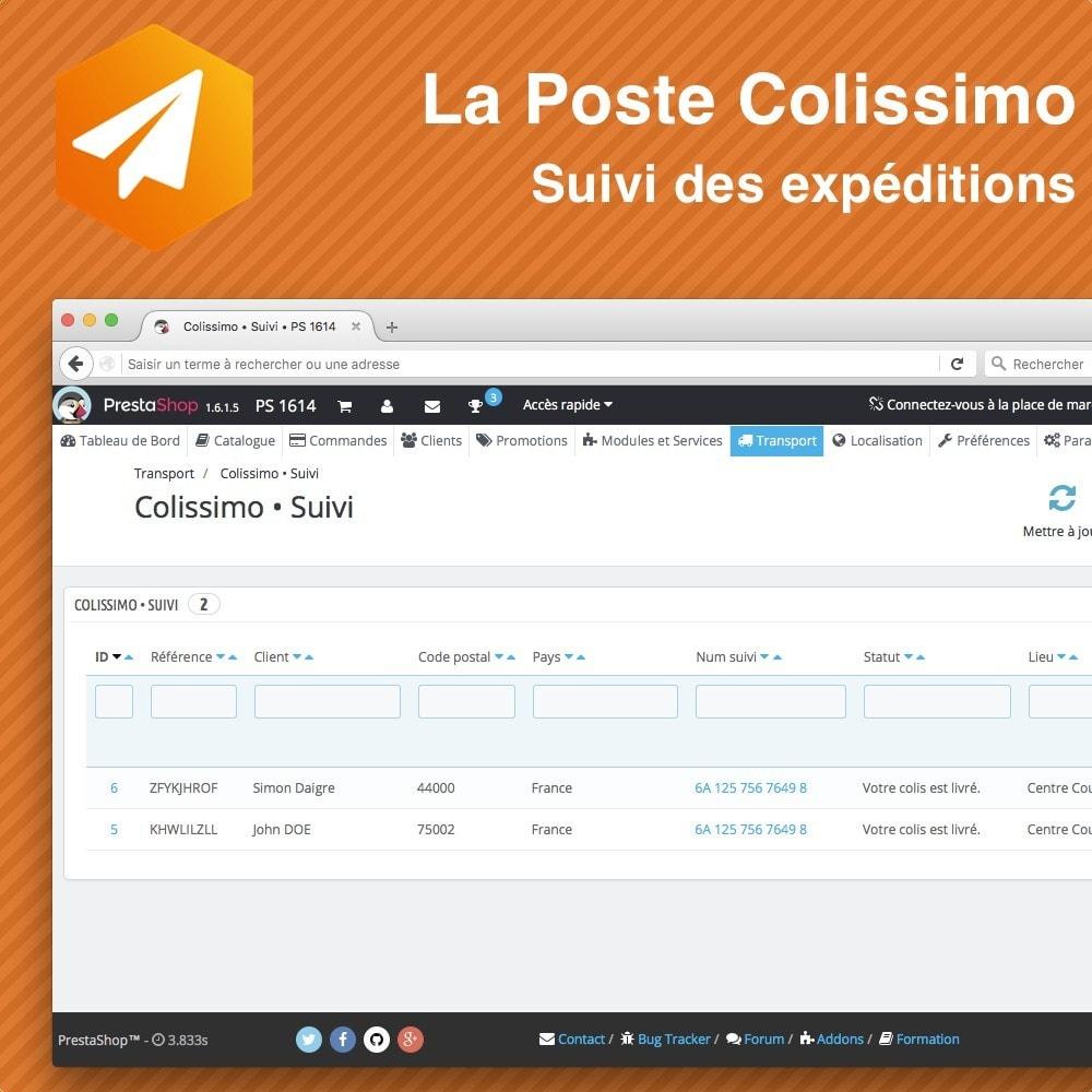 module - Sendungsverfolgung - Colissimo Suivi des expéditions - 4
