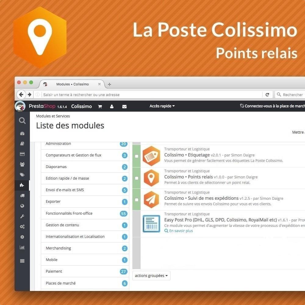 module - Point Relais & Retrait en Magasin - Colissimo Points relais - 3