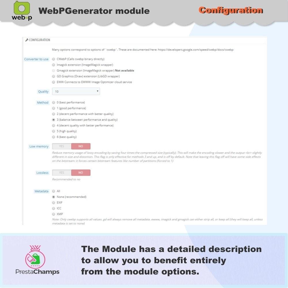 module - Pokaz produktów - Google WebP Image Generator - 2021 Update - 8