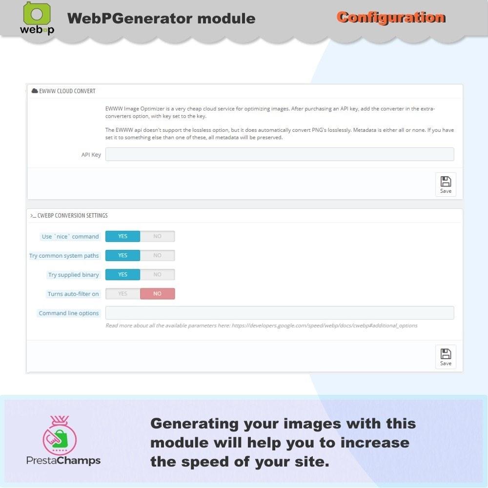 module - Pokaz produktów - Google WebP Image Generator - 2021 Update - 9