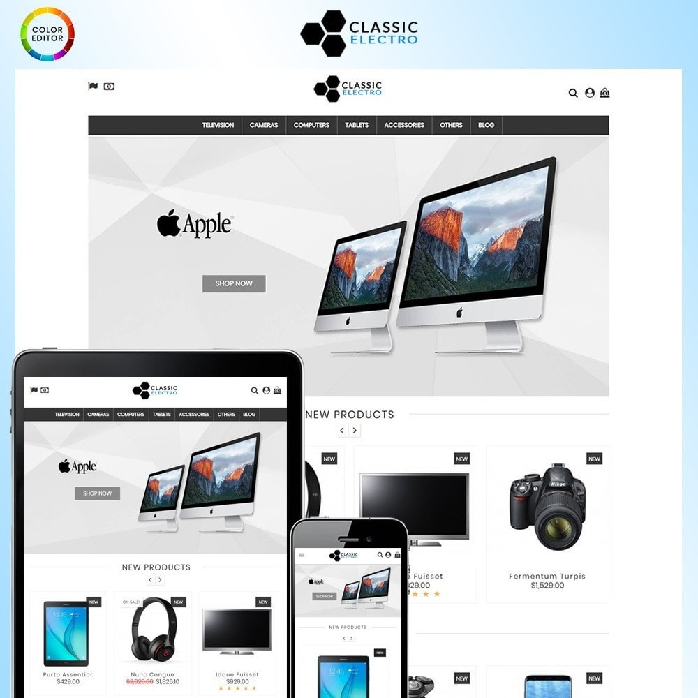 theme - Elektronik & High Tech - Classic Electro Store - 1