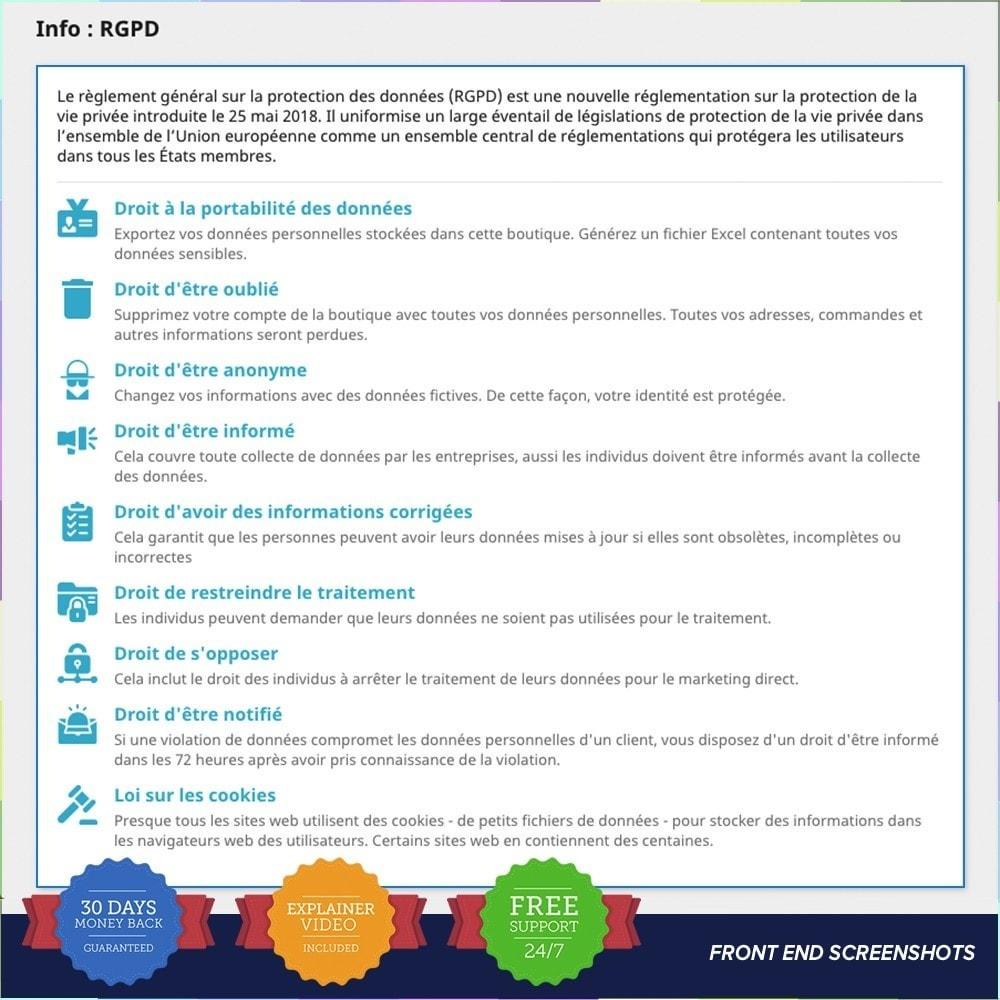 module - Législation - Règlement Général sur la Protection des Données - 20