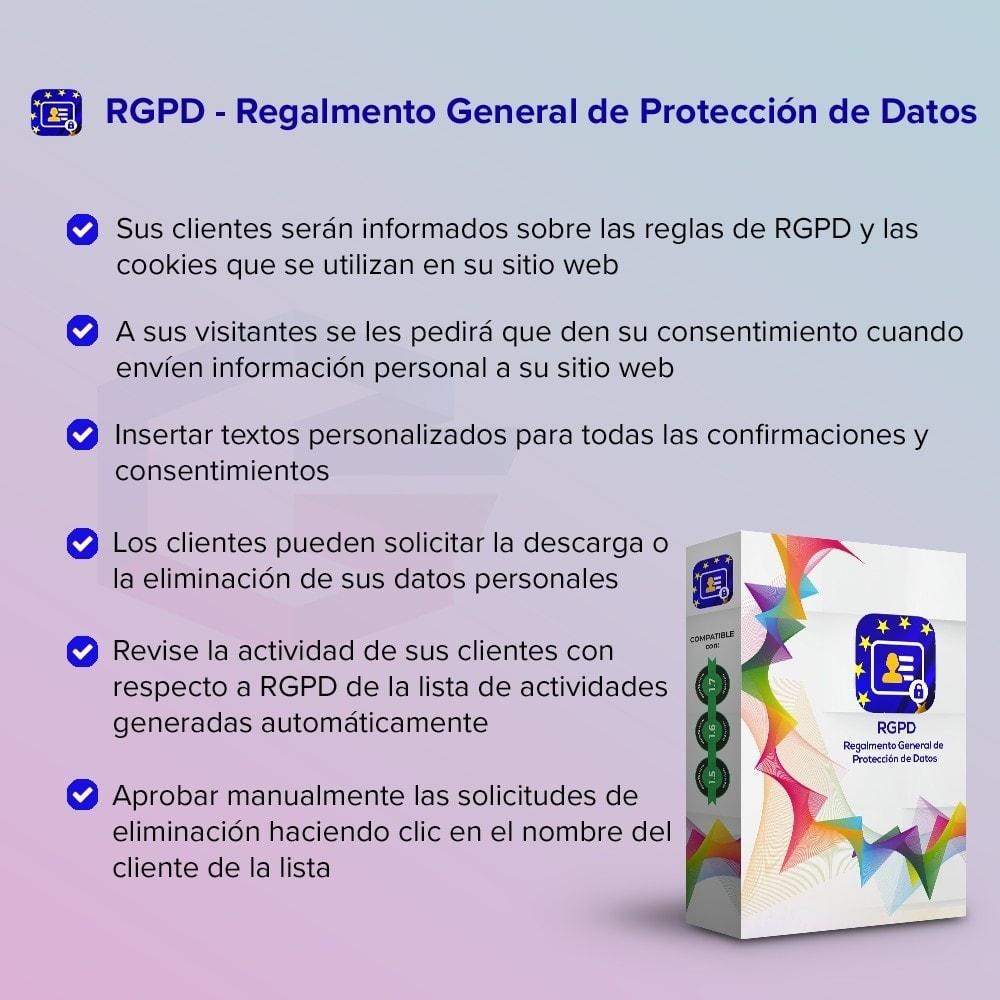 module - Marco Legal (Ley Europea) - GDPR UE - Regalmento General de Protección de Datos - 1