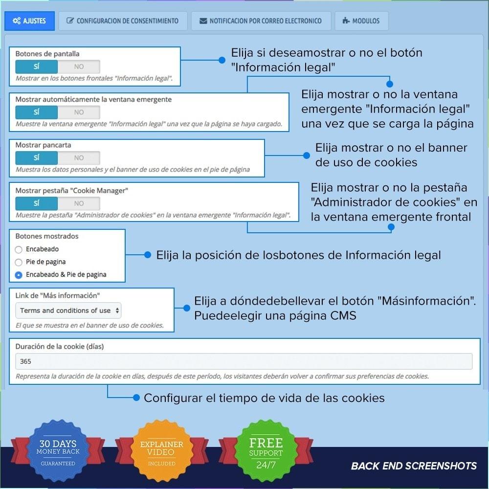 module - Marco Legal (Ley Europea) - GDPR UE - Regalmento General de Protección de Datos - 2