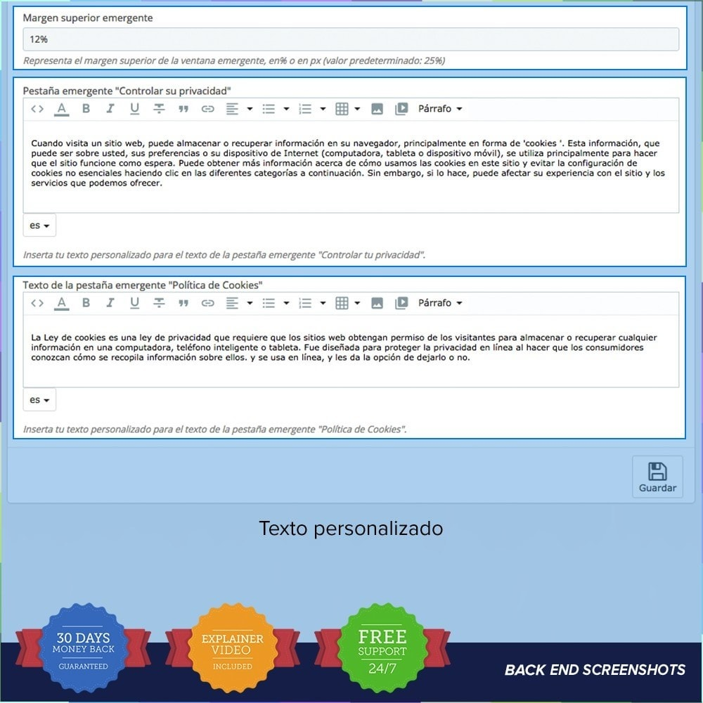 module - Marco Legal (Ley Europea) - GDPR UE - Regalmento General de Protección de Datos - 3