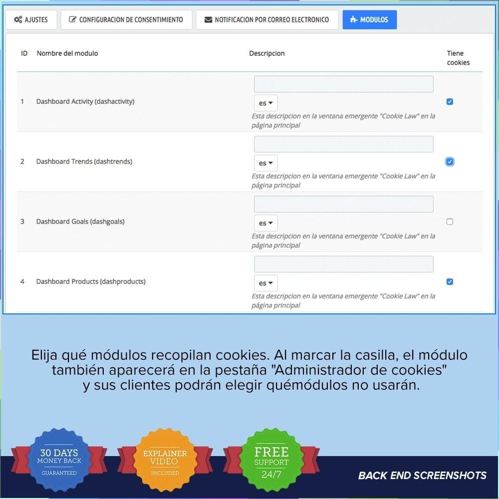 module - Marco Legal (Ley Europea) - GDPR UE - Regalmento General de Protección de Datos - 7