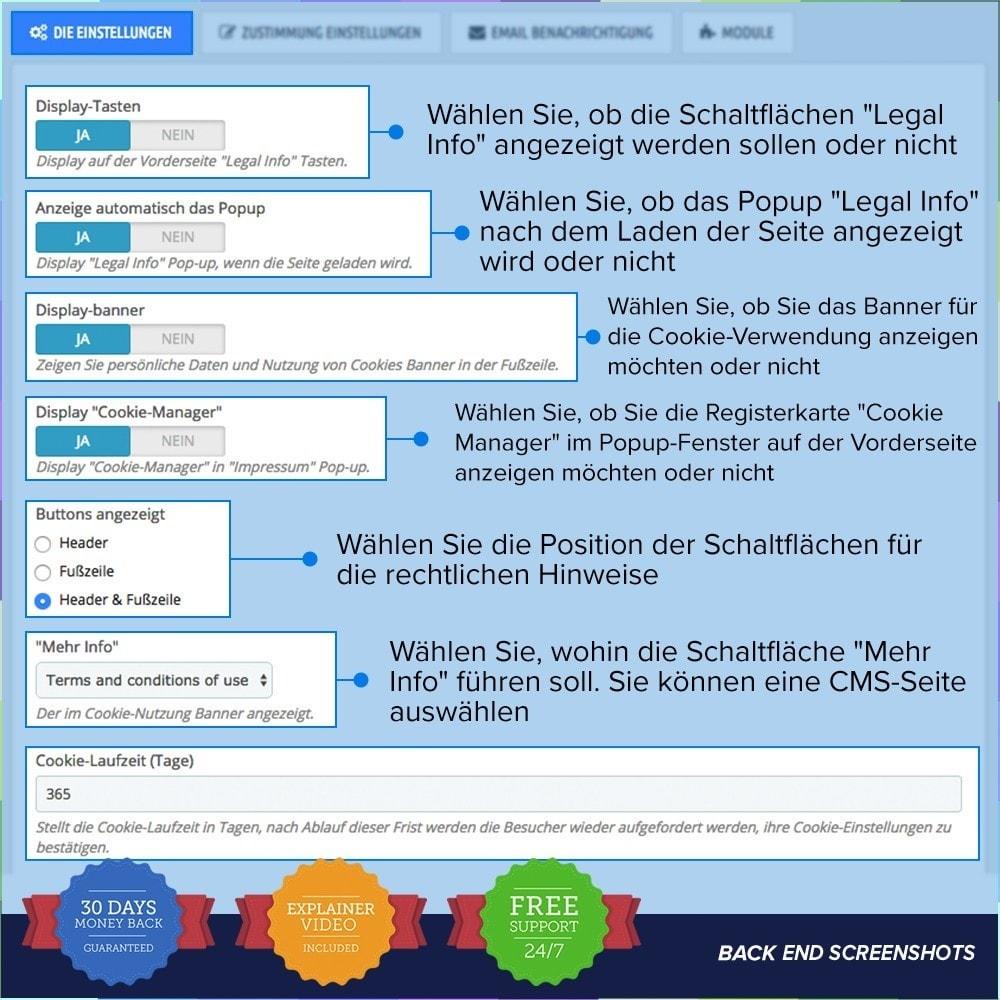 module - Rechtssicherheit - EU DSGVO – EU-Datenschutz Grundverordnung - 2