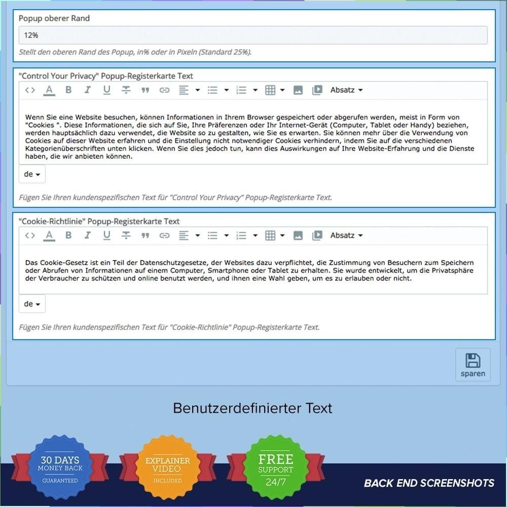 module - Rechtssicherheit - EU DSGVO – EU-Datenschutz Grundverordnung - 3