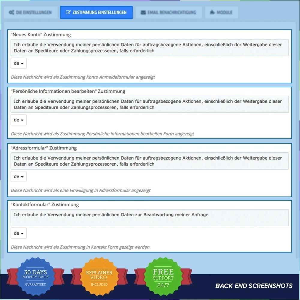 module - Rechtssicherheit - EU DSGVO – EU-Datenschutz Grundverordnung - 4
