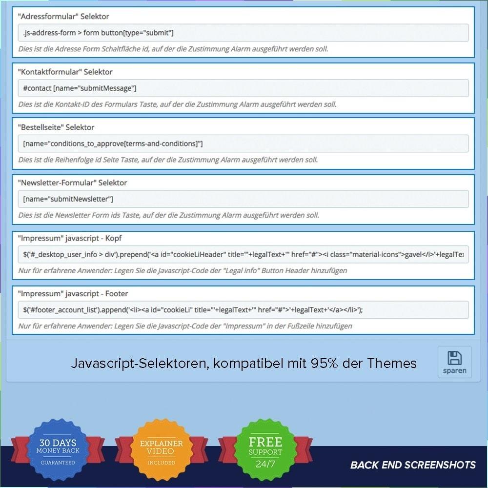 module - Rechtssicherheit - EU DSGVO – EU-Datenschutz Grundverordnung - 5