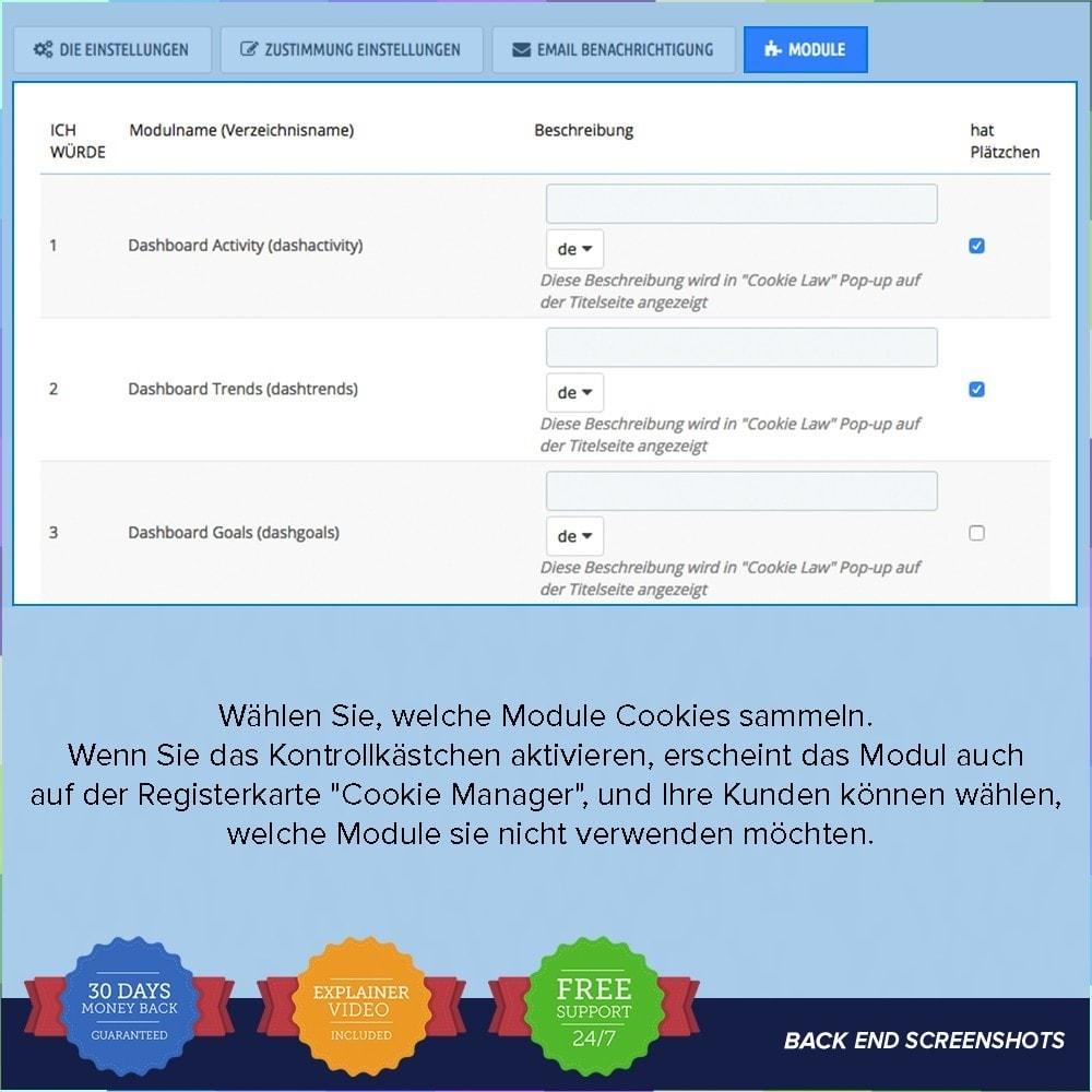module - Rechtssicherheit - EU DSGVO – EU-Datenschutz Grundverordnung - 7