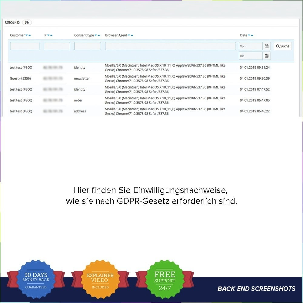 module - Rechtssicherheit - EU DSGVO – EU-Datenschutz Grundverordnung - 8