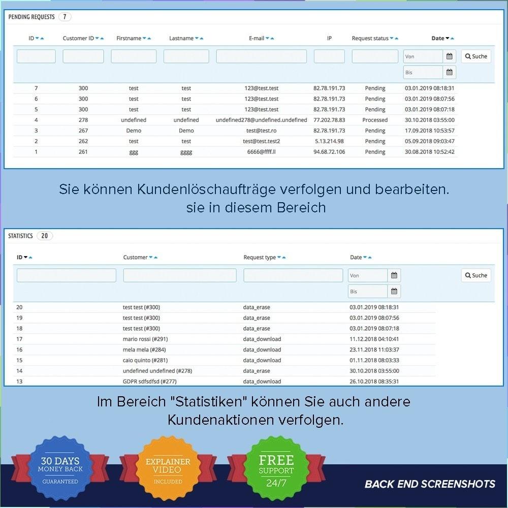 module - Rechtssicherheit - EU DSGVO – EU-Datenschutz Grundverordnung - 9