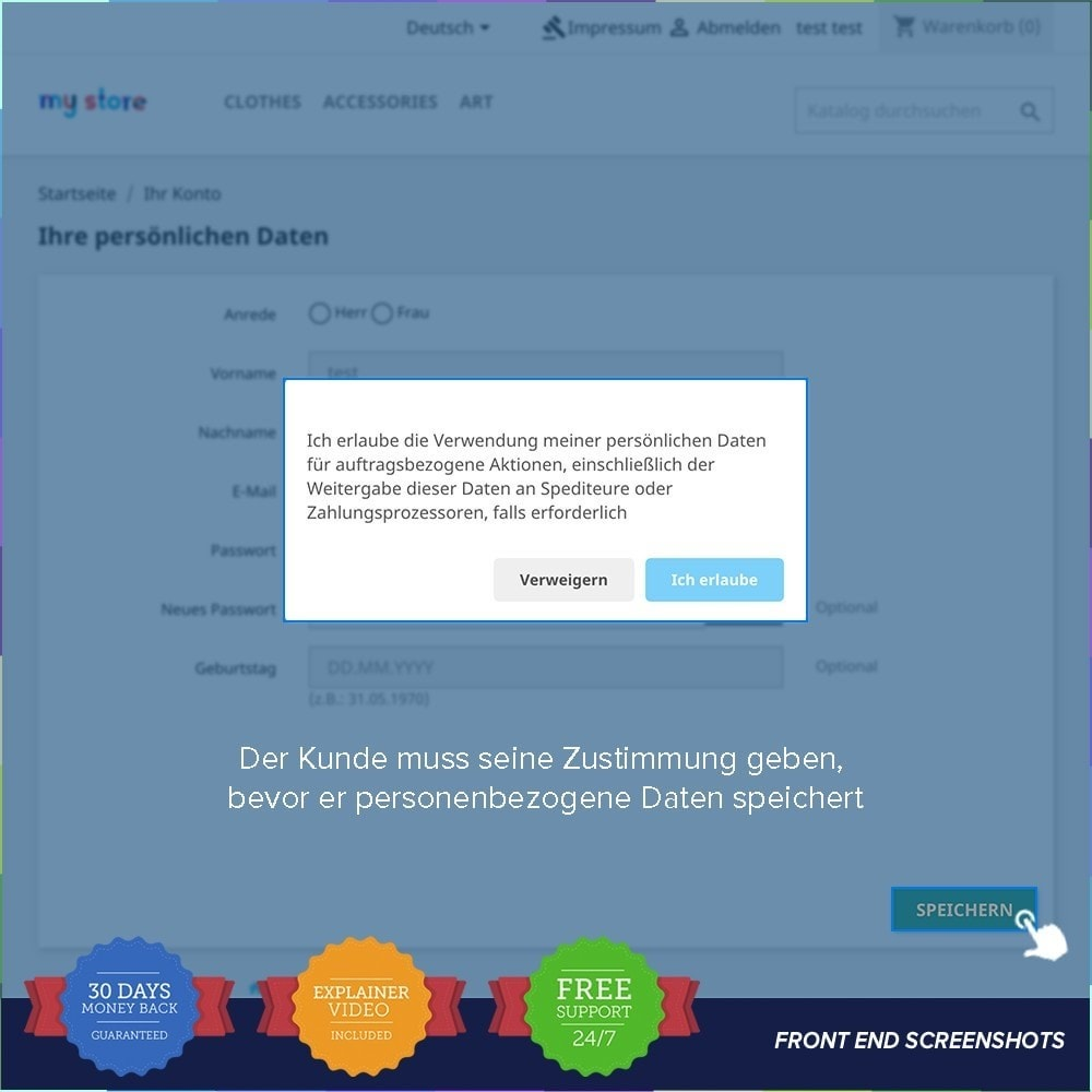 module - Rechtssicherheit - EU DSGVO – EU-Datenschutz Grundverordnung - 17