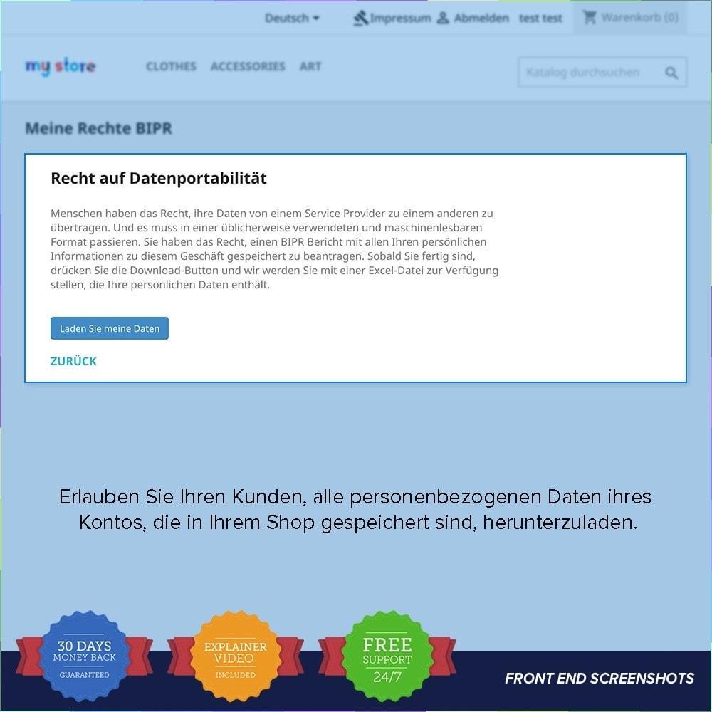 module - Rechtssicherheit - EU DSGVO – EU-Datenschutz Grundverordnung - 21