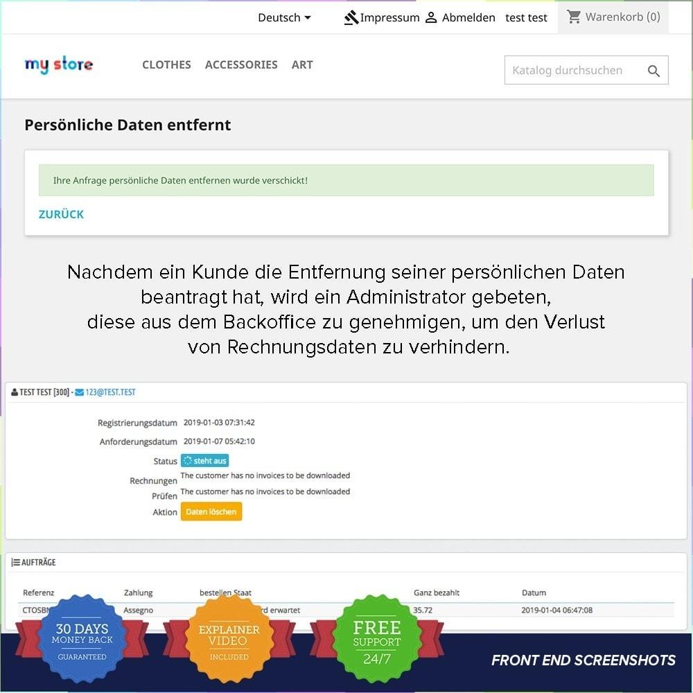 module - Rechtssicherheit - EU DSGVO – EU-Datenschutz Grundverordnung - 23