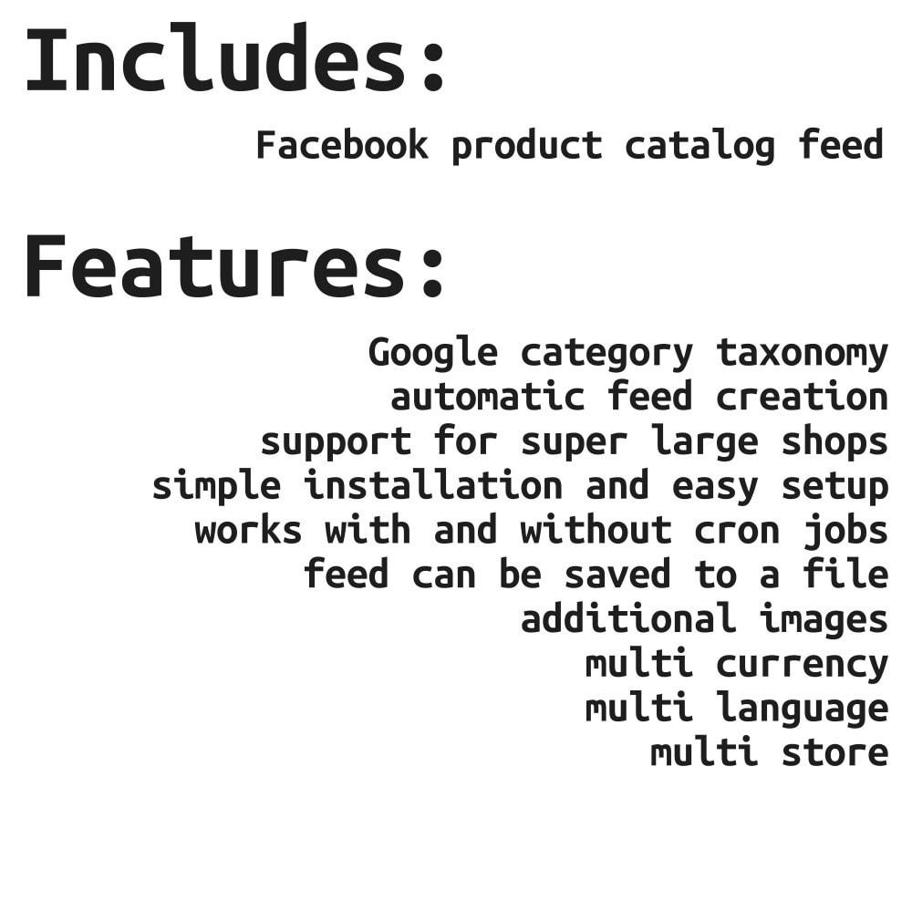 module - Produkte in Facebook & sozialen Netzwerken - Social Network Feed (shop & ads) - 2