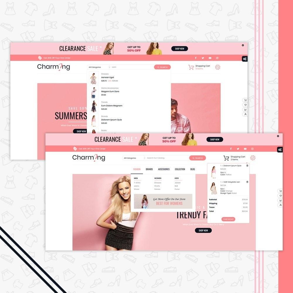 theme - Moda & Calzature - Charming Superstore Shop Template - 6
