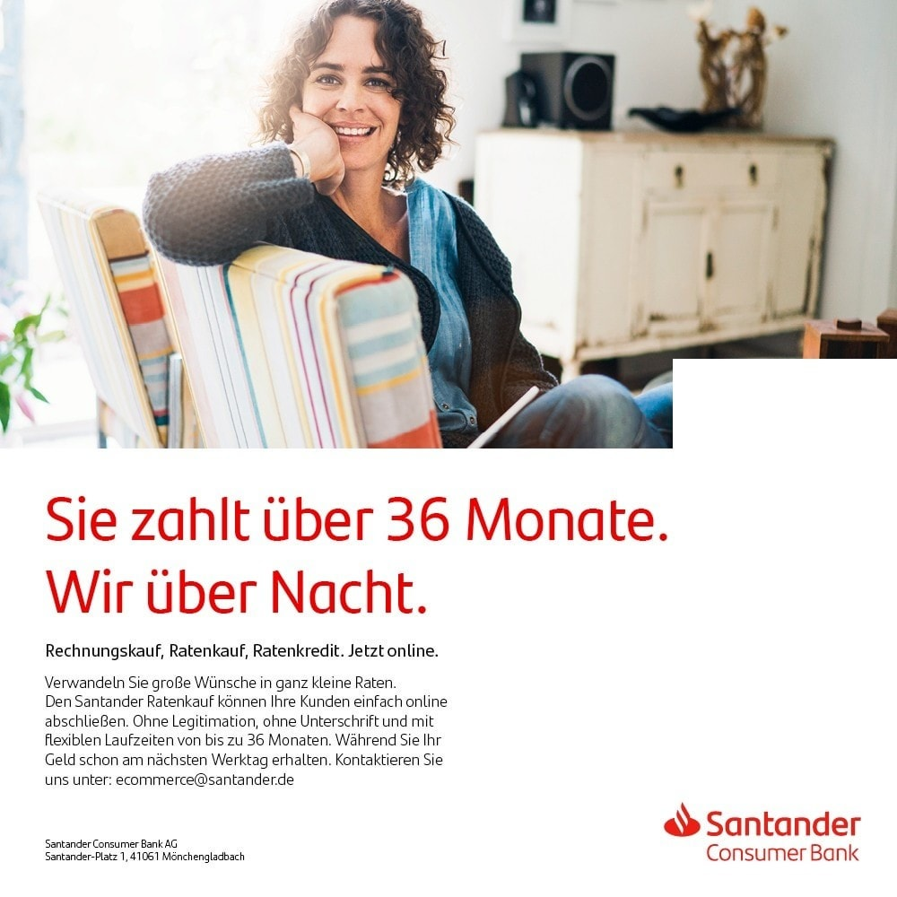 module - Andere Zahlungsmethoden - Santander Payment Solutions - 2