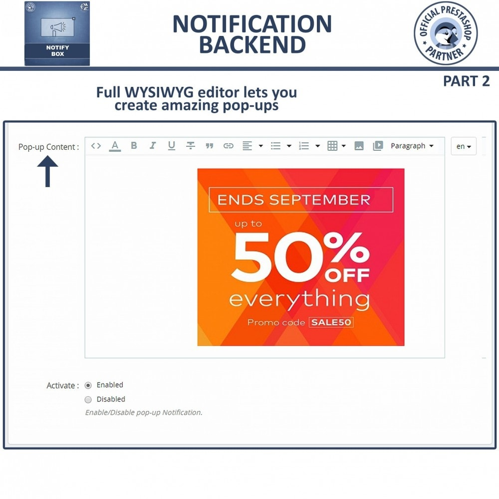 module - Pop-up - Pop up Promo and Notification | Show Attractive Pop Ups - 14