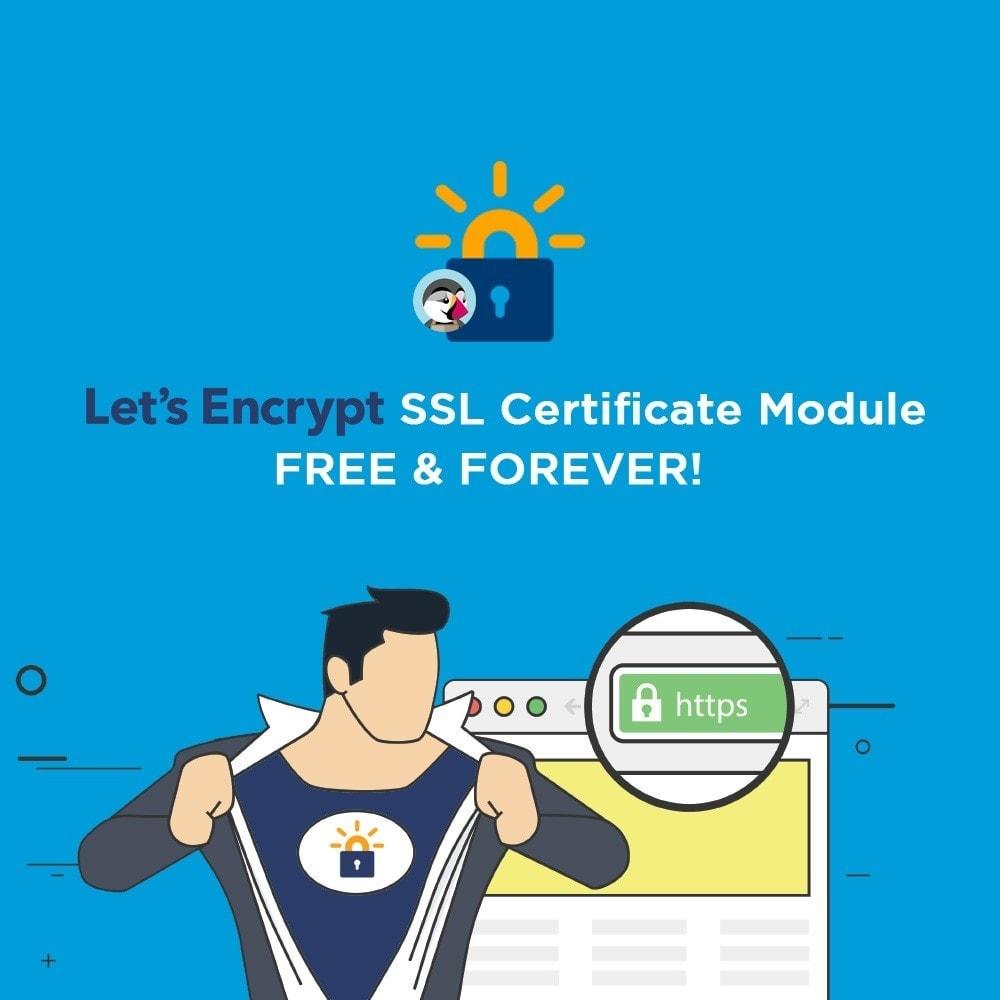 module - SEO (Pozycjonowanie naturalne) - Free SSL certificate by Let's Encrypt - 1