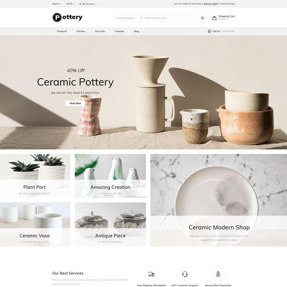 theme - Art & Culture - Pottery Store - 2