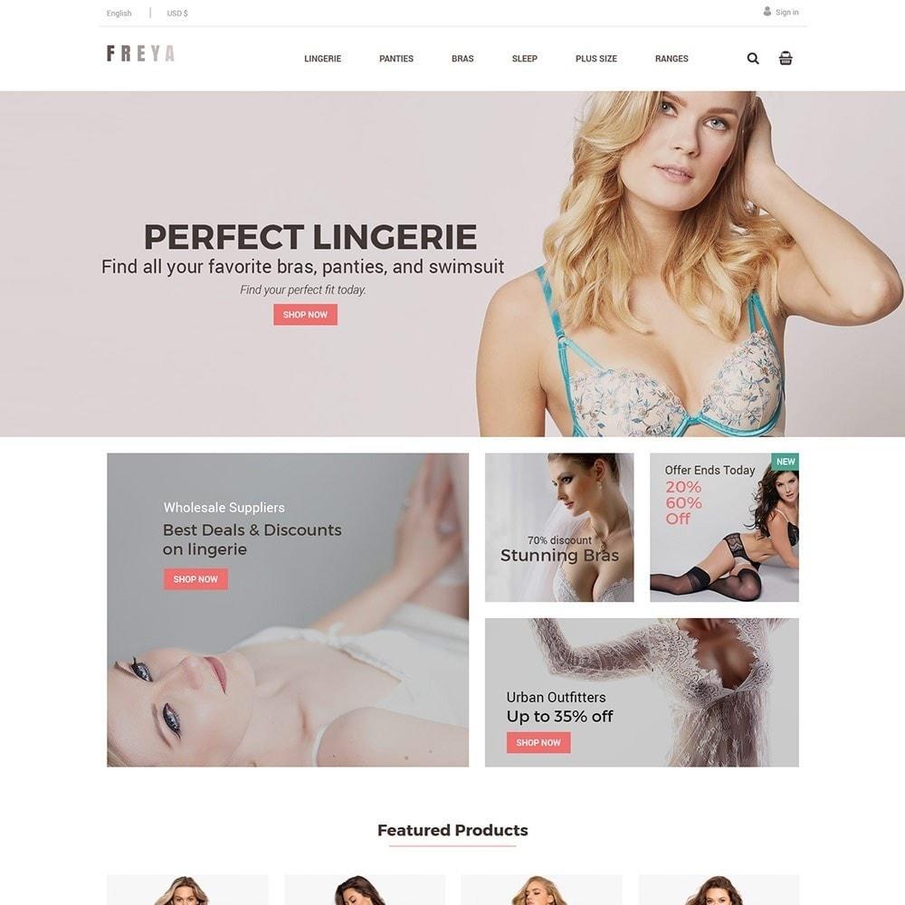 theme - Lingerie & Adult - Lingerie  - Adult  Fashion Store - 1