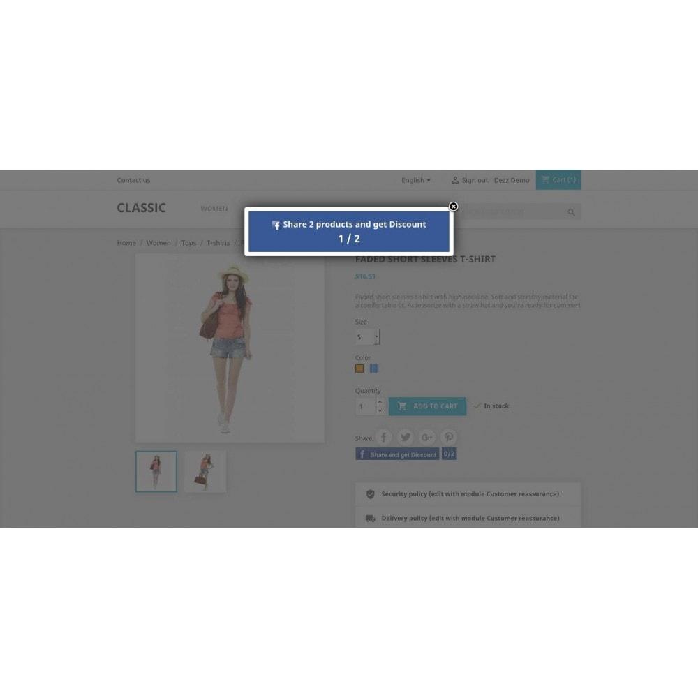 module - Kortingsbonnen - Referrals for Social network - 8