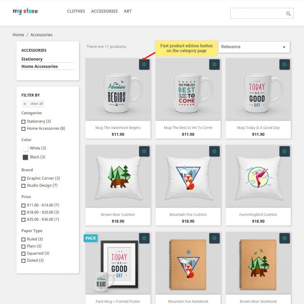 module - Snelle & seriematige bewerking - Front-End Product Editor - 2