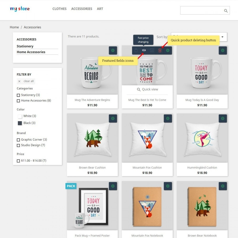 module - Snelle & seriematige bewerking - Front-End Product Editor - 3