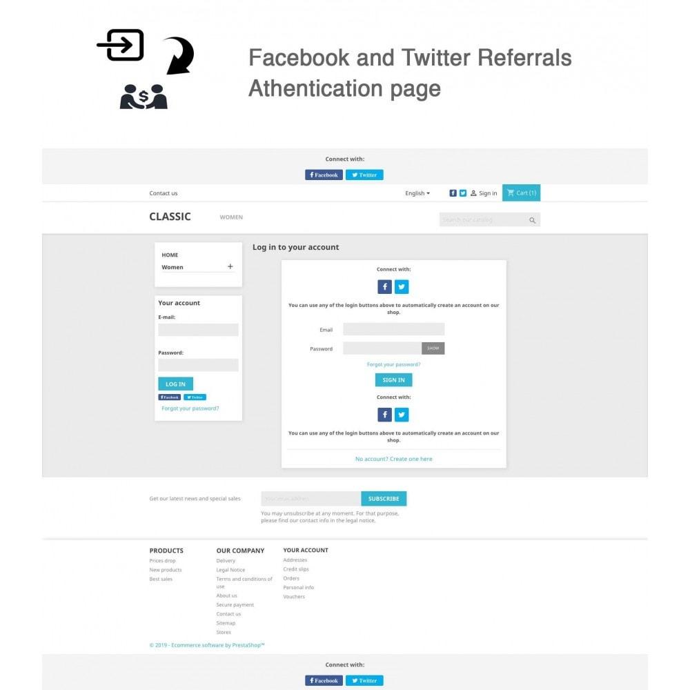 module - Gutschein in sozialen Netzwerken - Social Referrals + Connects (2 in 1) - 4