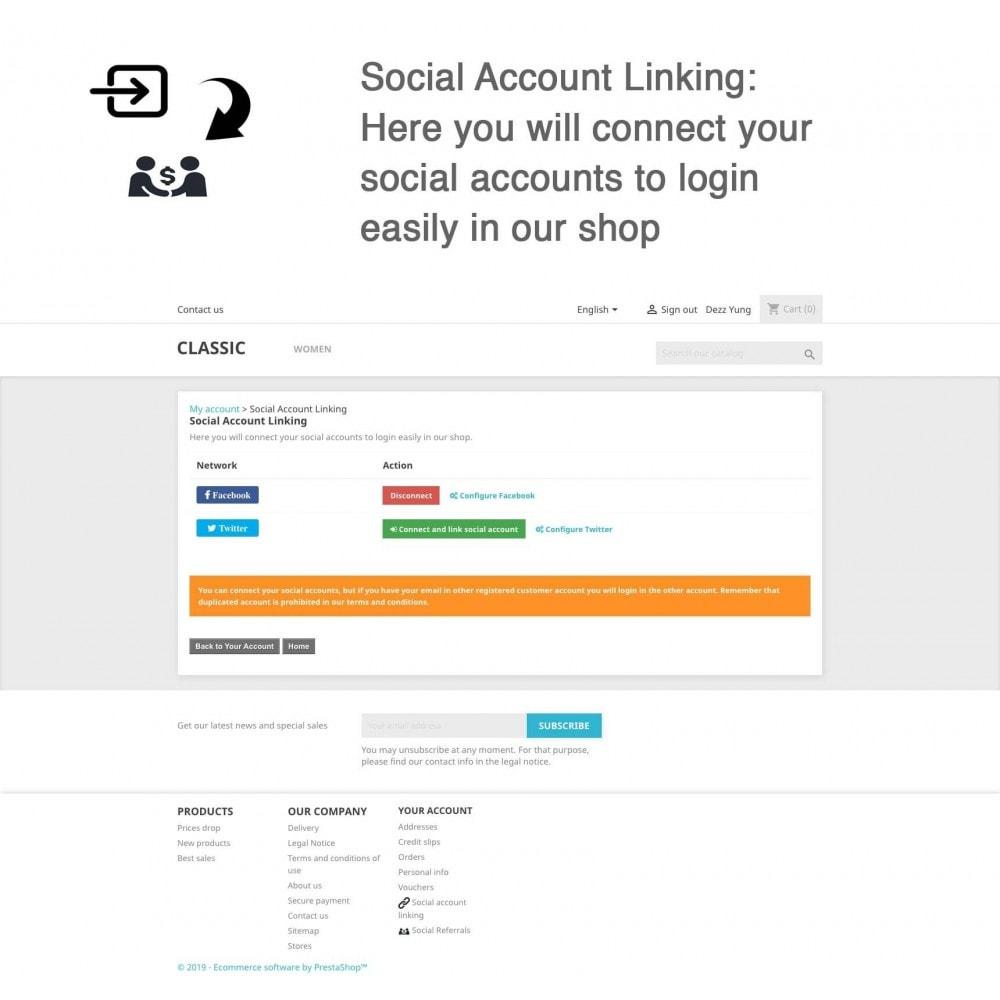module - Gutschein in sozialen Netzwerken - Social Referrals + Connects (2 in 1) - 11