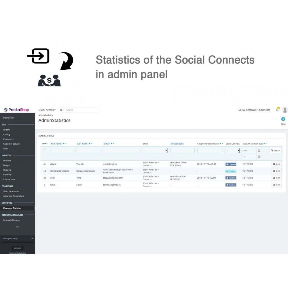 module - Gutschein in sozialen Netzwerken - Social Referrals + Connects (2 in 1) - 26