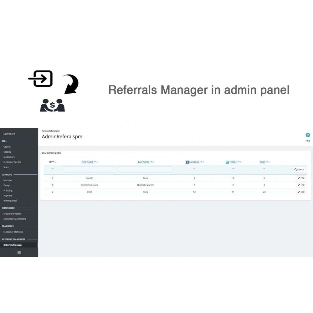 module - Gutschein in sozialen Netzwerken - Social Referrals + Connects (2 in 1) - 27