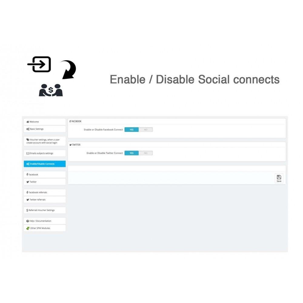 module - Gutschein in sozialen Netzwerken - Social Referrals + Connects (2 in 1) - 33