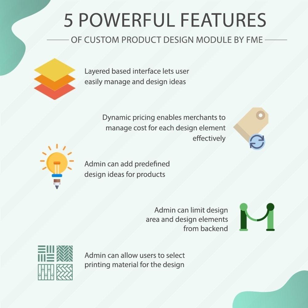 module - Diversificação & Personalização de Produtos - Custom Product Designer, Product Customization - 1
