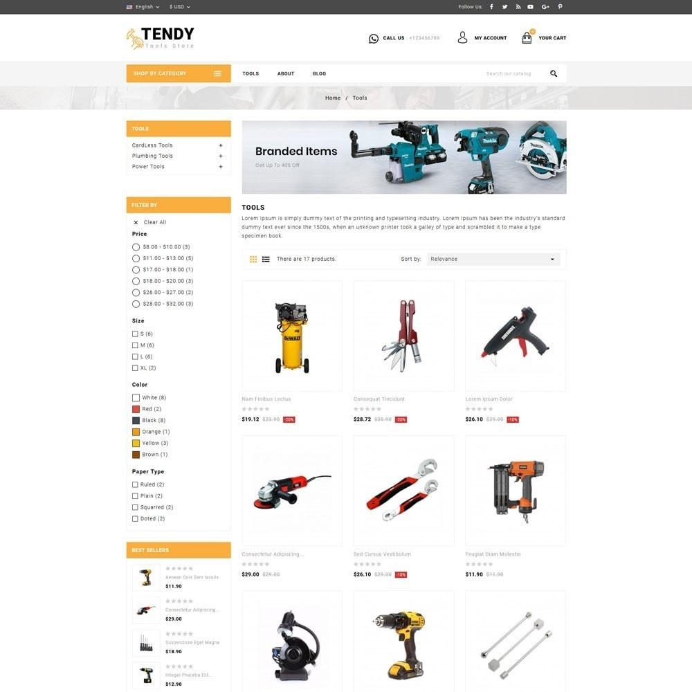 theme - Automotive & Cars - Tendy Tools Store - 3
