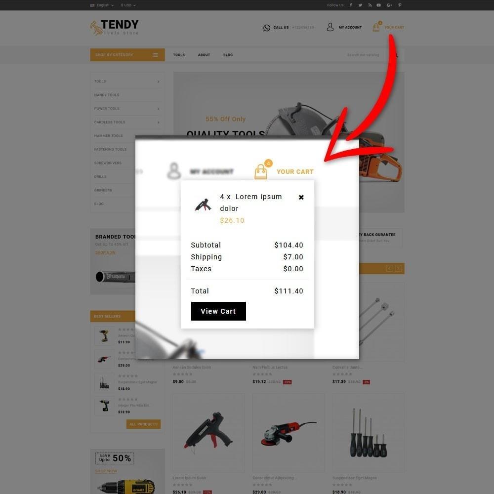 theme - Automotive & Cars - Tendy Tools Store - 7