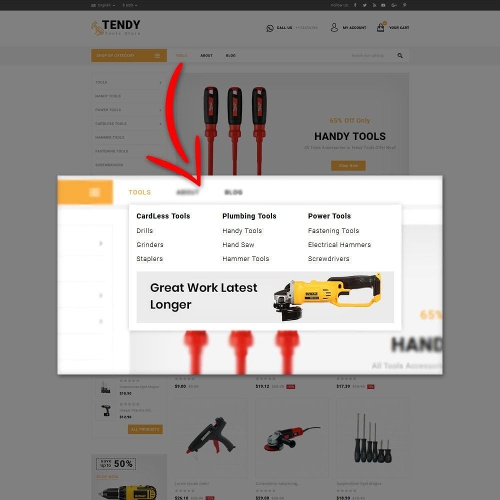 theme - Automotive & Cars - Tendy Tools Store - 8
