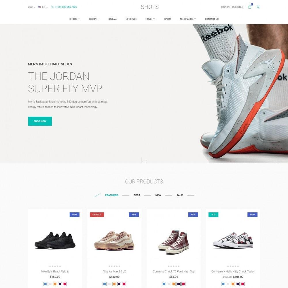 theme - Мода и обувь - World Footwear - Магазин Обуви - 1